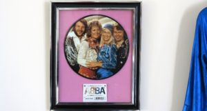 Poplars Care Home in Teeside - Abba exhibition