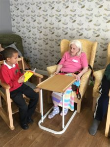 school children visit 4